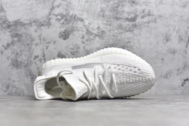 30a3dd07908d7 ADIDAS YEEZY BOOST 350 V2 White SURFACES WITH TRANSLUCENT STRIPE ...