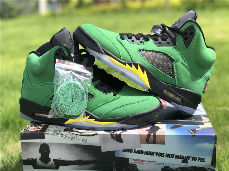 Air Jordan 5 SE Oregon Ducks
