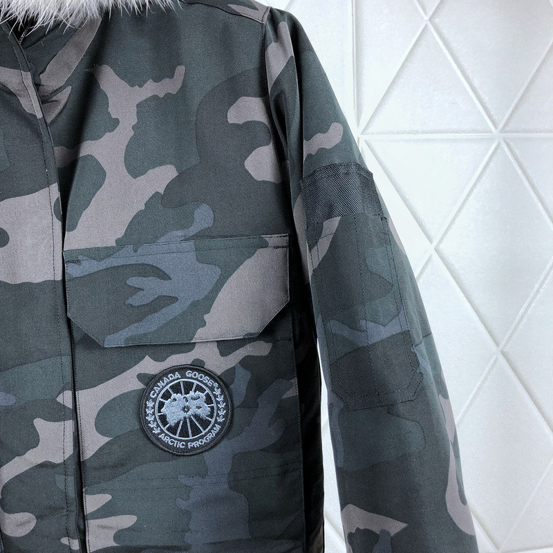 CG54 Long Goose Down Coat
