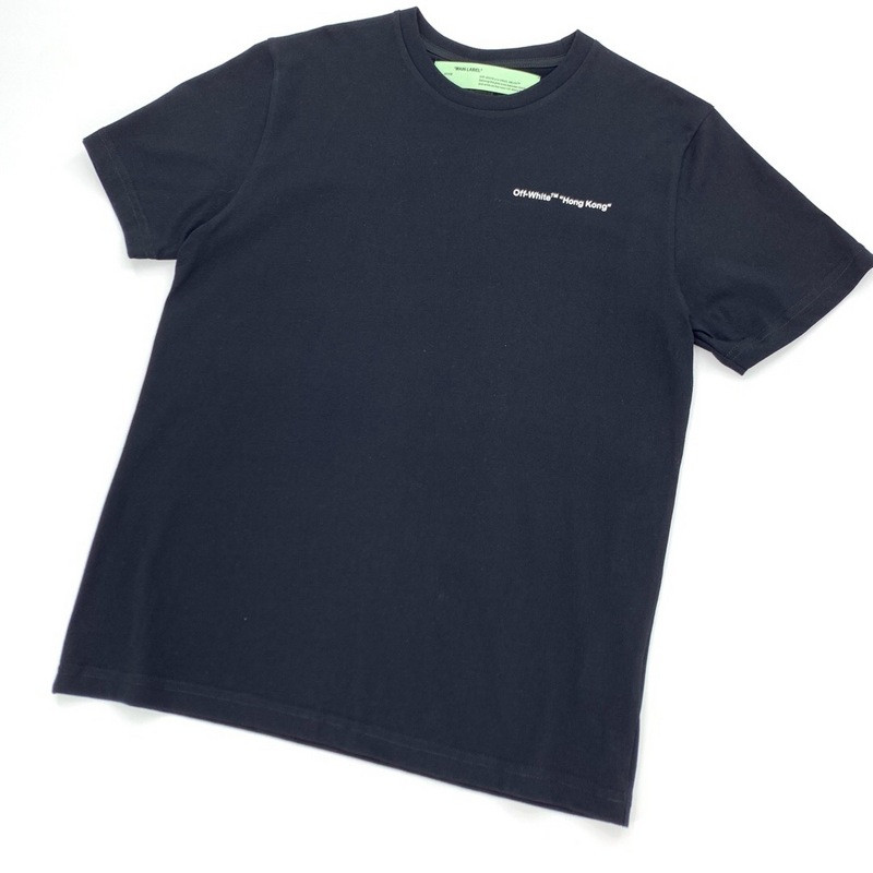 OW314 Off White City Garment Hong Kong Limitation Short Sleeve T-shirt