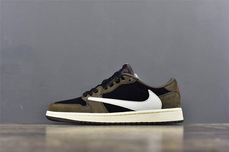 Scott X Air Jordan 1 Low Looks On Feet 2019 6 9 170 00